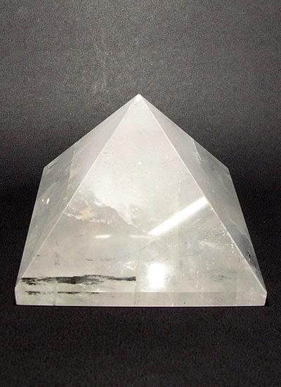 63mm Clear Quartz Crystal Pyramid Image