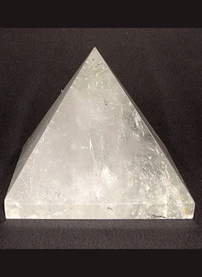 58mm Clear Quartz Crystal Pyramid Image
