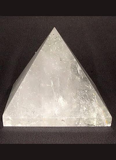 58mm Clear Quartz Crystal Pyramid Image