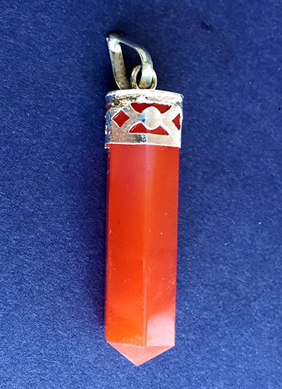 Carnelian Pencil Pendant Image