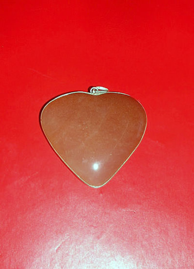Orange Agate Heart Pendant Image