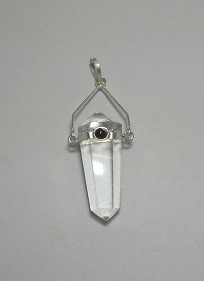 Double Point Crystal Pendant Image