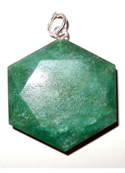 Green Aventurine Star Pendant Image