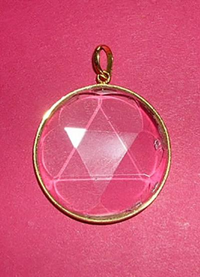 GMCKS  Healing Pendant in Gold Image