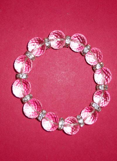 Diamond Cut Crystal Bracelet Image