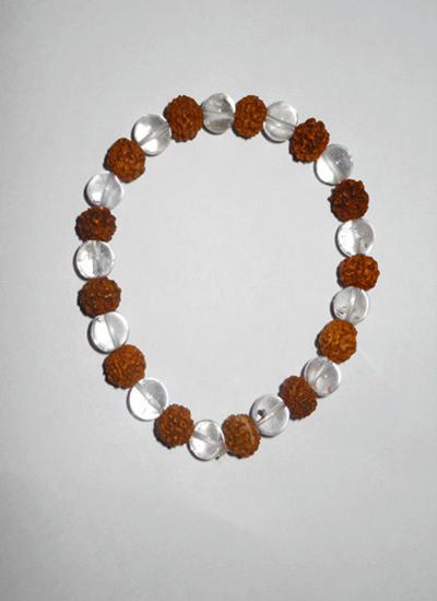 Crystal Rudraksh Bracelets Image