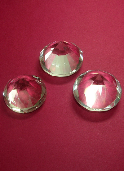 30 mm Set of 9 Diamond shape Quartz Crystal Extractors Image