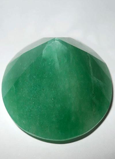 Green Aventurine Daimond Shape Image