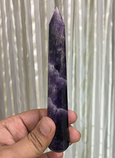 150 mm Amethyst Crystal Wand Image