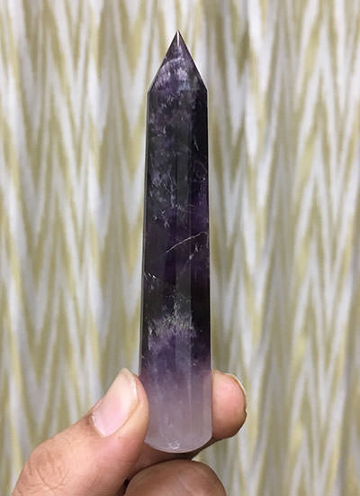 102 mm Amethyst Crystal Wand Image