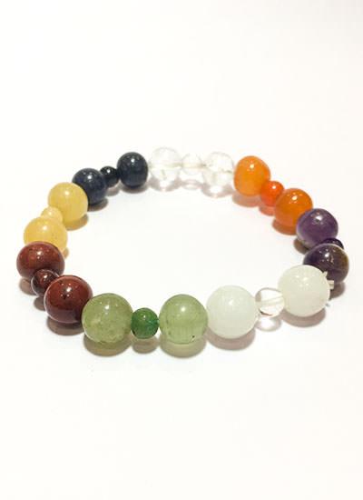 7 Chakra Multi Color Bracelet Image