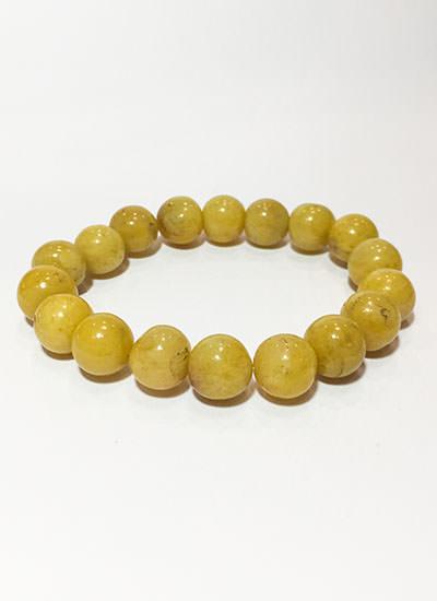 Golden Agate Bead Bracelet Image
