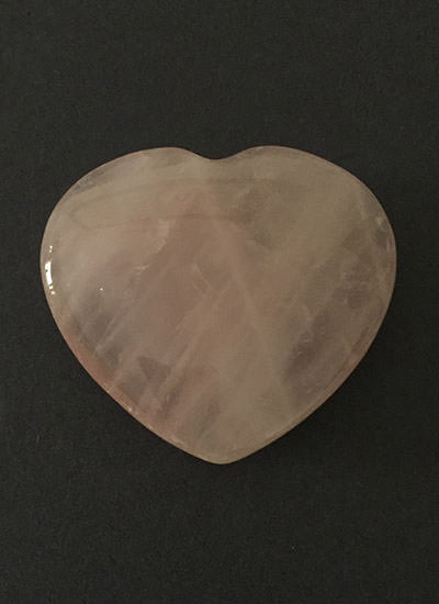 45 mm Rose Quartz Heart Image