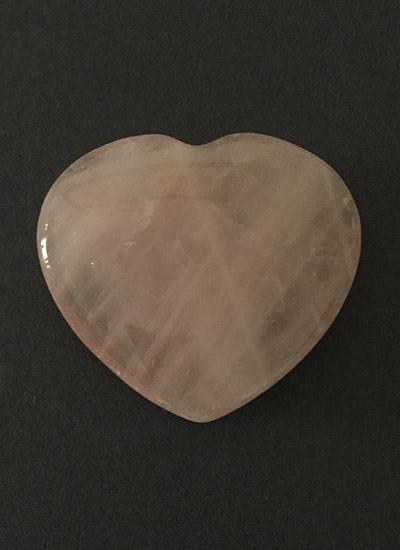 45 mm Rose Quartz Heart Image