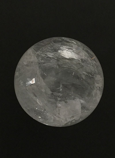 10 cm Quartz Crystal ball Image