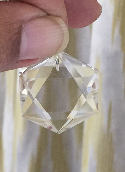 Hexagonal Star Of David Pendant Image