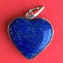 Lapis Lazuli Heart Pendant Image