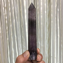 135 mm Amethyst Crystal Wand Image