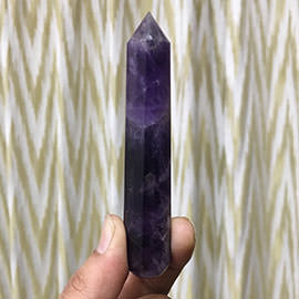 97 mm Amethyst Crystal Wand Image