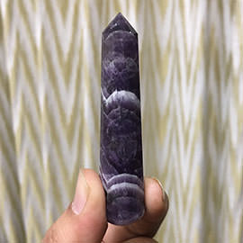 77 mm Amethyst Crystal Wand Image