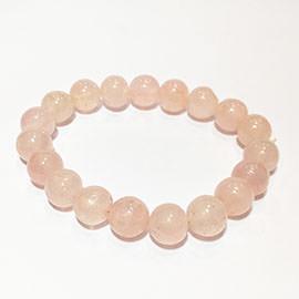 Rose Quartz Crystal Bracelet Image