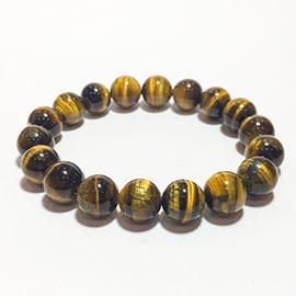 Tiger Eye Beads Bracelet Image