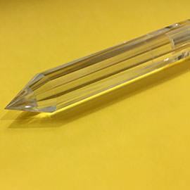 130 mm Pranic Gold Crystal Healing Wand Image