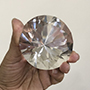 Rare Diamond shape Quartz crystal extractor Image