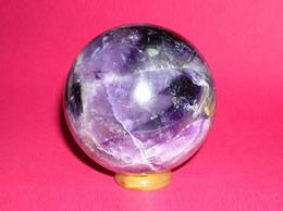 72 mm Amethyst Crystal Ball