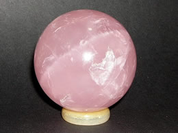Related 52 mm Rose Quartz Crystal Ball