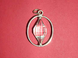 Related Clear Crystal Faceted Pendant