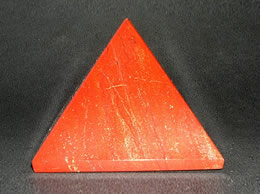 Related 62 mm Red Jasper Pyramid