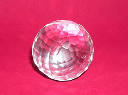Related Faceted Crystal Ball