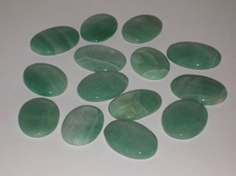 Related Green Aventurine worry stone set of 9