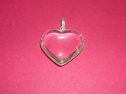 Related Clear Crystal Heart Pendant