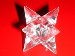 20 mm Quartz Crystal Merkaba