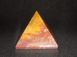 35 mm Fancy Agate Pyramids