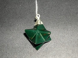 Related Bloodstone Merkaba Pendulum