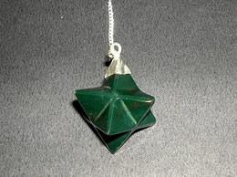 Related Bloodstone Merkaba Pendulum