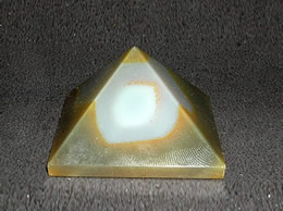 Related 38 mm Fancy Agate Pyramid