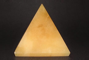 Related 58 mm Yellow Agate Pyramid