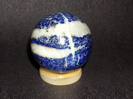 Related 33 mm lapis lazuli