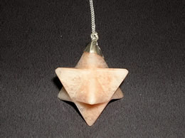 Related Sunstone Merkaba Pendulum