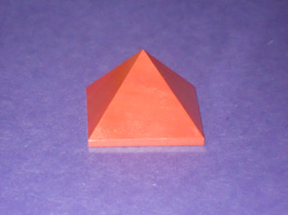 Related 38 mm Red Jasper pyramid