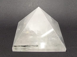 63mm Clear Quartz Crystal Pyramid