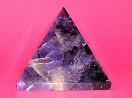 58 mm Amethyst Crystal Pyramid