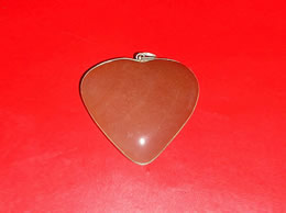 Related Orange Agate Heart Pendant