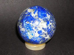 Related 30 mm lapis lazuli sphere