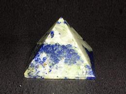 25 mm Lapis Lazuli Pyramid