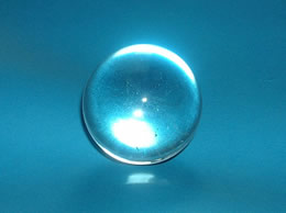 31mm Clear Quartz Crystal Ball